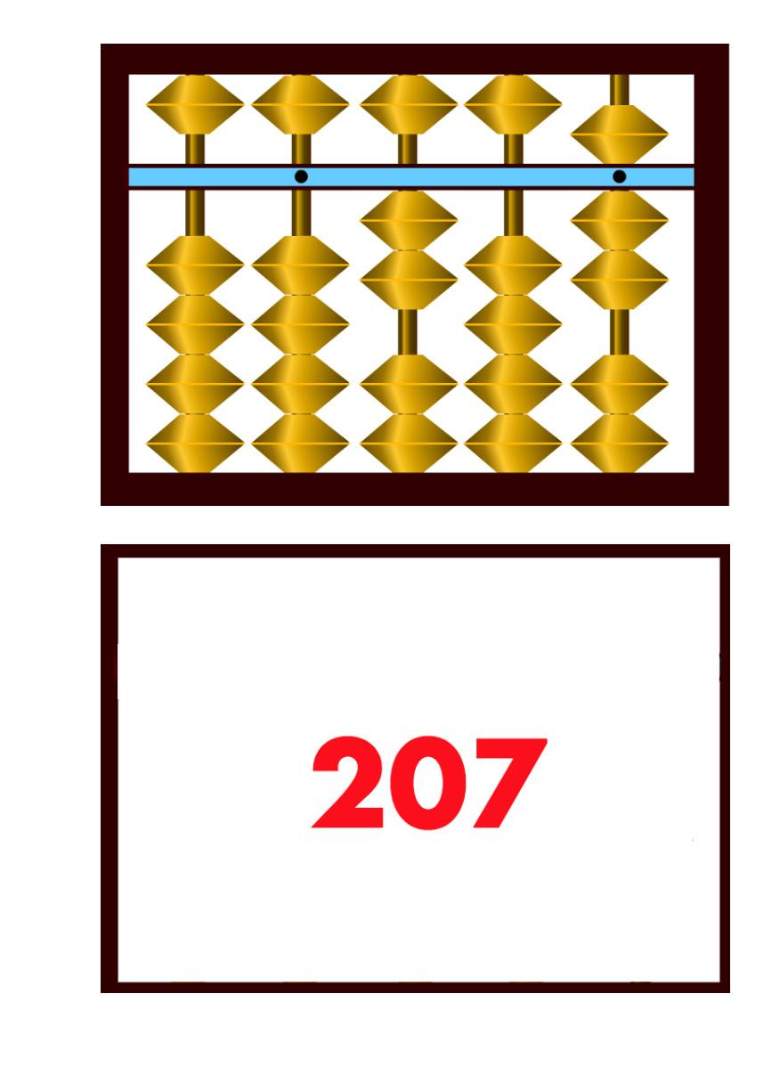 Ментальная Флеш -карты до 300